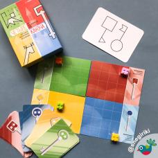 Четыре ключа. Нейропсихологическая игра для развития пространственных представлений