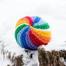 Мяч Вязаный
