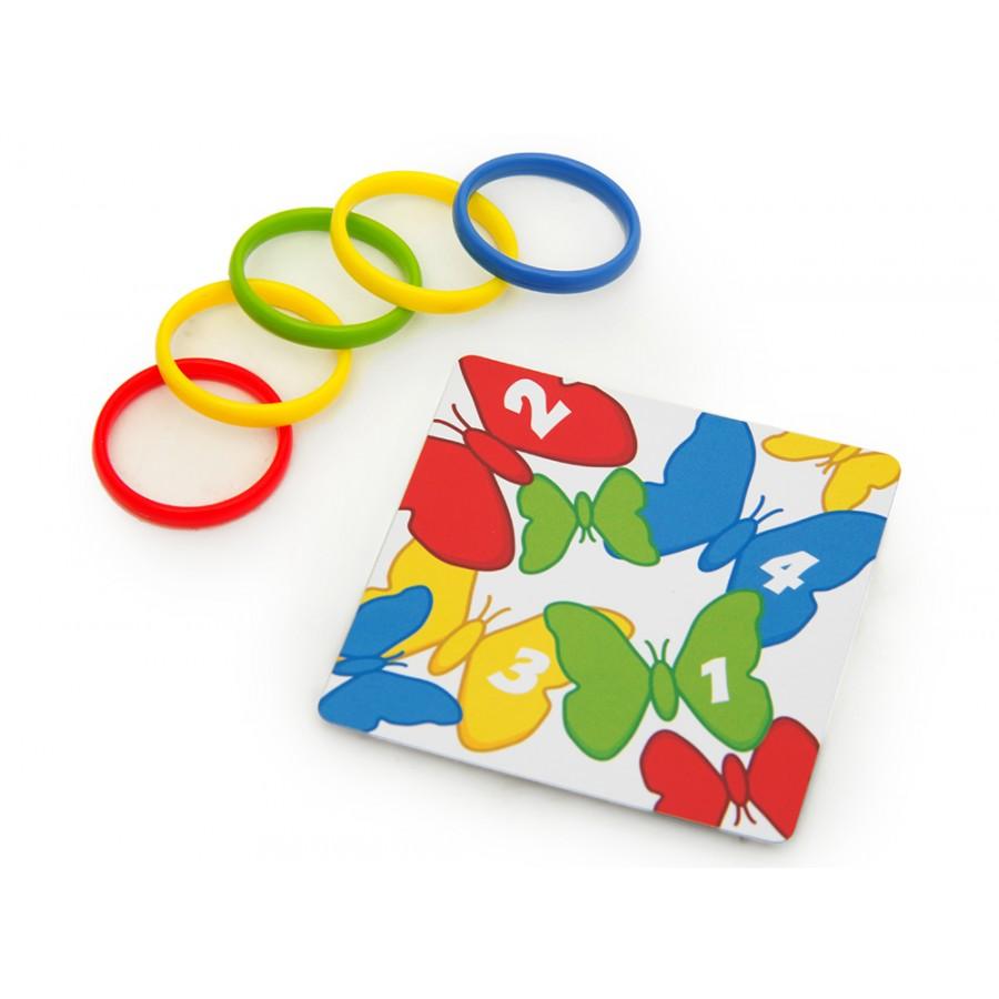 Разноцветные колечки
