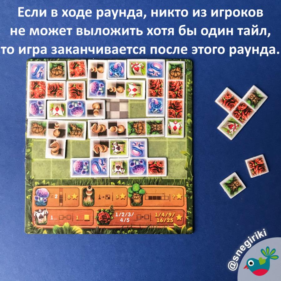 Настольная игра Сад Алисы